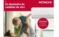 Hitachi Cooling & Heating España sortea un equipo de aire acondicionado FrostWash Mokai35