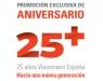 Promoción exclusiva para instaladores de Viessmann por su 25 Aniversario