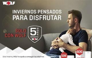 Campaña Invierno de Wolf: consigue bonificaciones al comprar calderas Wolf