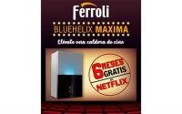 """Ferroli te premia con 6 meses de Netflix con su promoción """"una caldera de cine"""""""