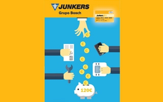 Junkers plus premia la instalación de las calderas de condensación más eficientes