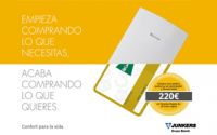 Junkers recompensa al usuario que adquiera un pack de caldera eficiente con hasta 220 euros