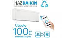 Plan Renove de Daikin: 100€ al adquirir un equipo de climatización Daikin esta primavera