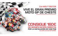 Consigue 160 euros y entradas al Gran Premio de Cheste con calderas Wolf y Repsol