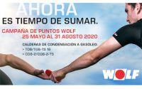 """Campaña de puntos Gasóleo WOLF Primavera-verano """"Ahora es tiempo de Sumar"""""""