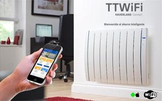 """Emisores térmicos Haverland TT WiFi: """"Control total en la palma de su mano"""""""