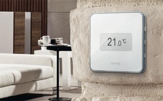 Nuevo termostato para sistemas radiantes Uponor Smatrix Style