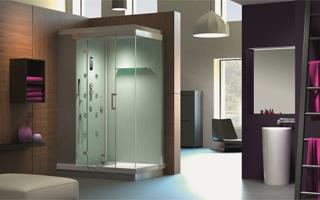 Nueva gama de cabinas de ducha con hidromasaje e hidrosauna Alba Power de Grandform