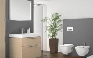 Geberit lanza en abril su nueva gama innovadora de sanitarios y mobiliario de baño