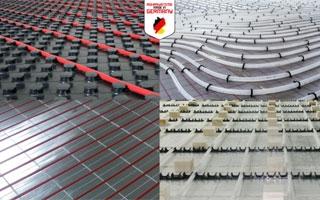 Soluciones para calefacción por suelo radiante Maincor en España