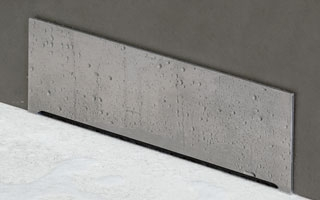 Linnum Wall, el sumidero vertical para duchas de obra acorde a las tendencias de baño