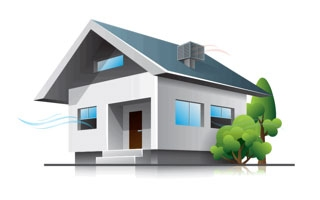 Climatización ecológica y eficiente de vivienda unifamiliar con evaporativos Breezair