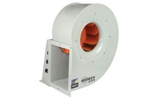 Ventiladores centrífugos de media presión CRL de Sodeca