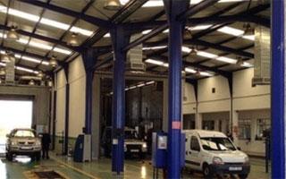 Australair provee más de 450 unidades de climatizacion evaporativa Breezair para las ITV de Andalucia