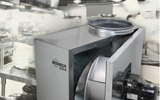 Cómo funciona el sistema de extracción para cocinas profesionales Sodeca