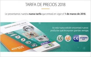 Nueva Tarifa Sodeca 2018 de sistemas de ventilación eficiente