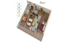 CTE HS3; reducción de los caudales de ventilación en viviendas. Dos métodos de cálculo