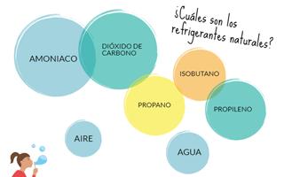Refrigerantes naturales: características, ventajas y desventajas de uso - Infografía
