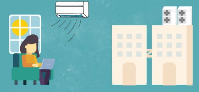 Bomba de calor Inverter ¿por qué es el sistema más eficiente? Infografía