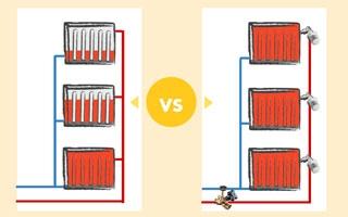Convertir calefacción central en individual con válvulas y repartidores de costes (infografía)